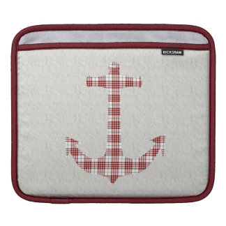 Buchanan Tartan Plaid Anchor iPad Sleeve