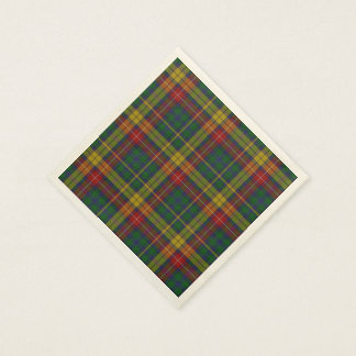 Buchanan Tartan Plaid Paper Napkins