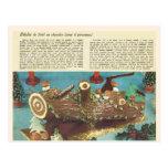Buche de Noel, registro del navidad Postales