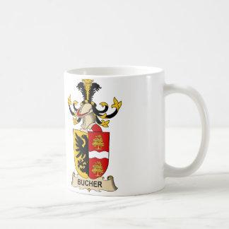 Bucher Family Crests Coffee Mug