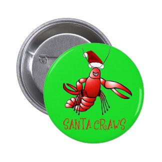 Buches de Santa - Crawdad Pins