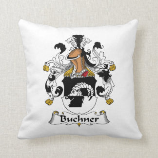 Buchner Family Crest Throw Pillow