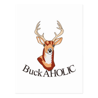 Buck-aholic Postcard