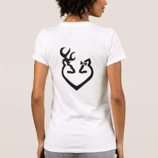 Buck and Doe Heart Love Tshirt
