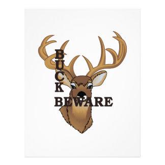 Buck Beware Letterhead