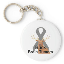 Buck Brain-Tumors Keychain