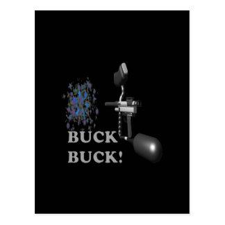Buck Buck Postcard