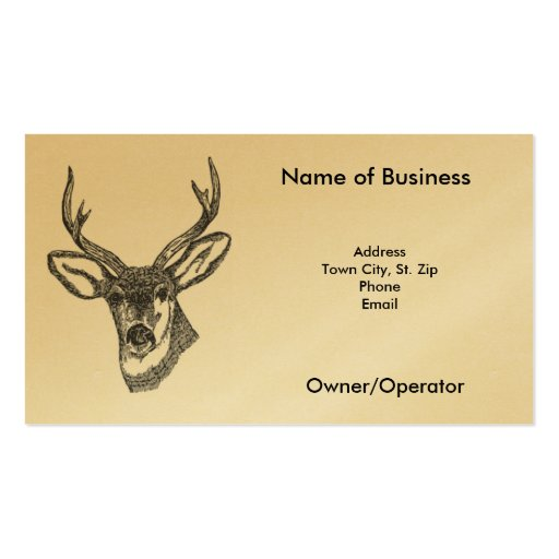 Buck Business Card