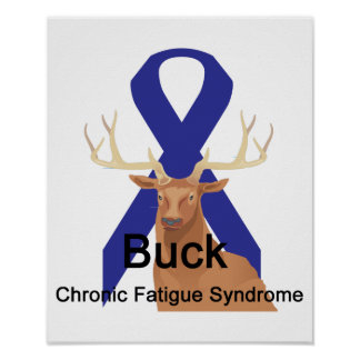 Buck Chronic-Fatigue-Syndrome Poster