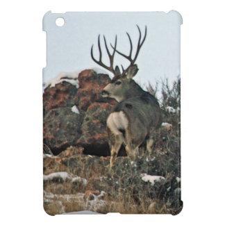 Buck deer first snow iPad mini covers