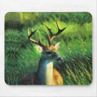 Buck deer mouse pad