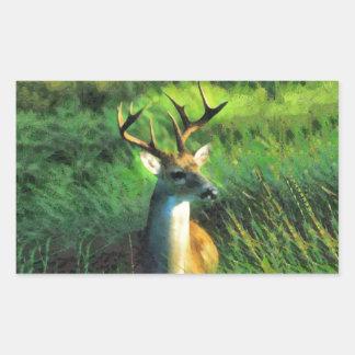 Buck Deer Sticker