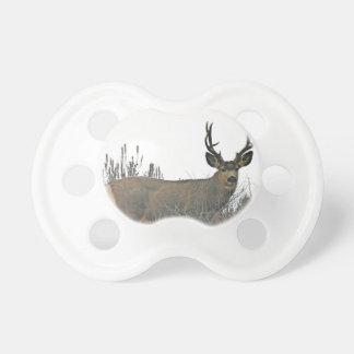 Buck deer w pacifier
