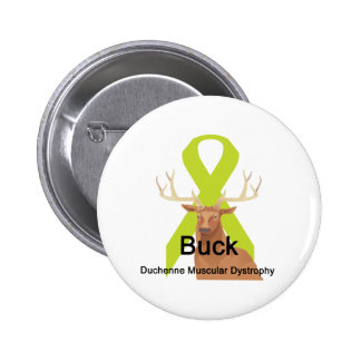 Buck Duchenne-Muscular-Dystrophy Button