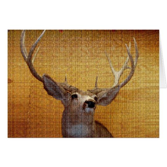 Buck Fever Card