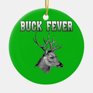 Buck Fever Christmas Ornaments