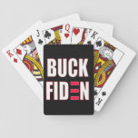 Buck Fiden Playing Cards