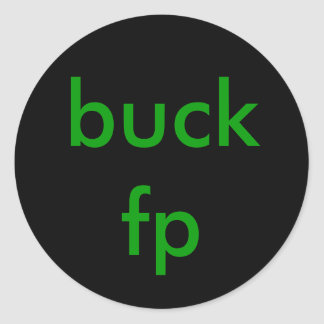 buck fp stickers