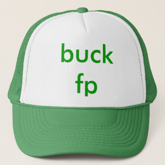 buck fp trucker hat