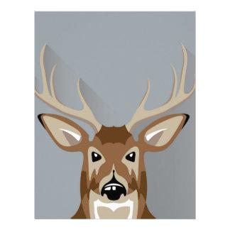 Buck head letterhead