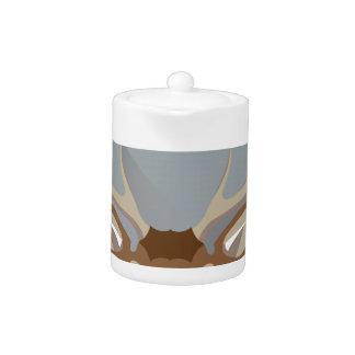 Buck head teapot