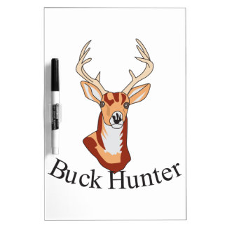 Buck Hunter Dry-Erase Board