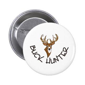 Buck Hunter Pinback Button
