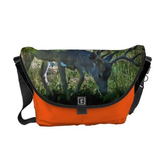 Buck Hunter's Orange Messenger Bag rickshawmessengerbag