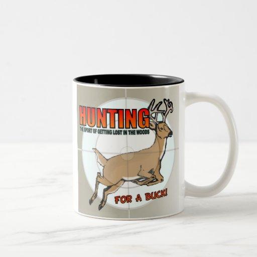 Buck Hunting Mug
