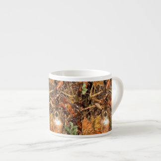 Buck in Fall Camo White Tail Deer Espresso Cup