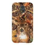 Buck in Hunter Camo White Tail Deer Cases For Galaxy S5