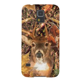 Buck in Hunter Camo White Tail Deer Galaxy S5 Case