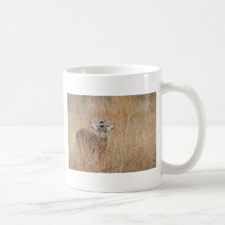 Buck in the Grass Classic White Coffee Mug