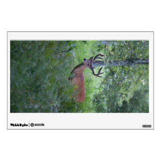 Buck in the Smoky Mountains Wall Decal