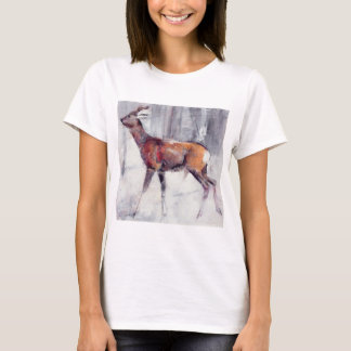 Buck in the snow 2000 T-Shirt