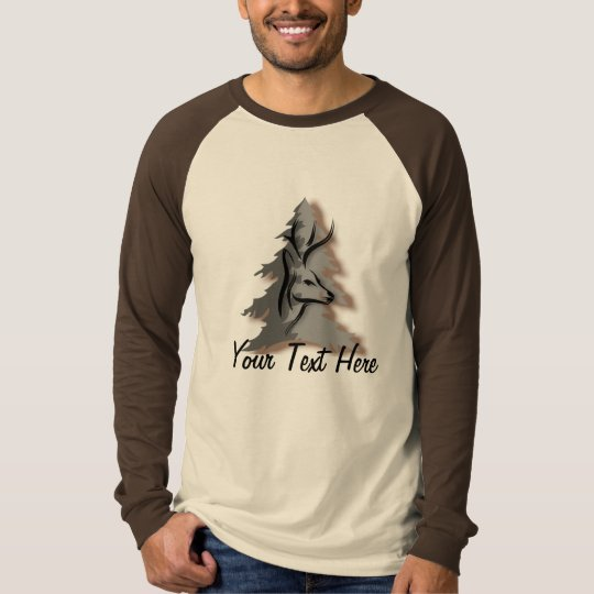 Buck in the Woods Custom Personalized Slogan T-Shirt