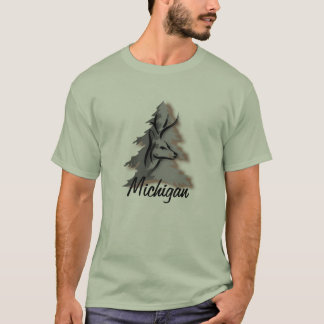 Buck in the Woods Custom Personalized T-Shirt