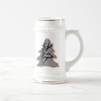 Buck in the Woods Coffee Mugs