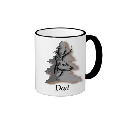 Buck in the Woods Personalized Coffee Mugs