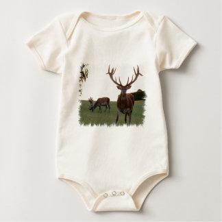 Buck  Infant Baby Bodysuit