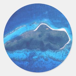 Buck Island National Reef Classic Round Sticker