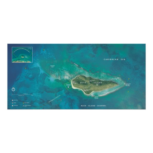 Buck Island Reef National Monument Poster