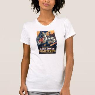 Buck Jones 1925 Western movie poster T-shirt
