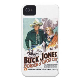 Buck Jones - Gordon of Ghost City iPhone 4 Case-Mate Case