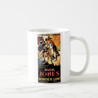 Buck Jones in Border Law Coffee Mug