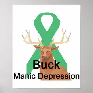 Buck Manic-Depression Poster
