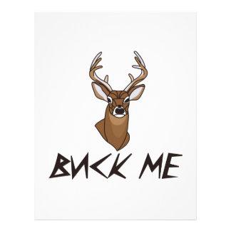 Buck Me! Letterhead