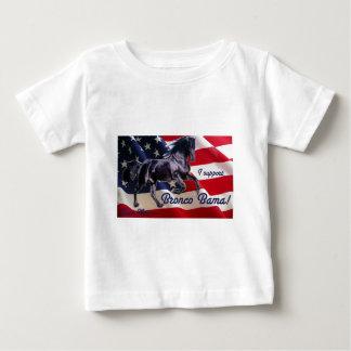 Buck Mitt— I Support Bronco Bama! Baby T-Shirt