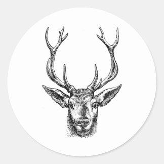 Buck of a Deer Stickers