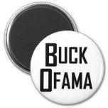 Buck Ofama 2 Inch Round Magnet